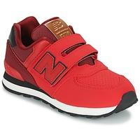 Skor Barn Sneakers New Balance KV575 Röd / Svart