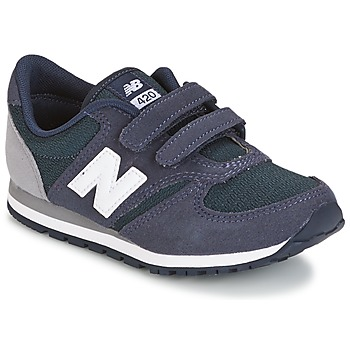 Skor Barn Sneakers New Balance KE421 Marin / Grå