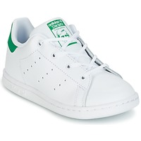 Skor Barn Sneakers adidas Originals STAN SMITH I Vit / Grön