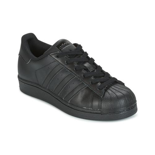 online store b7cdc 0fd55 Skor Barn Sneakers adidas Originals SUPERSTAR Svart