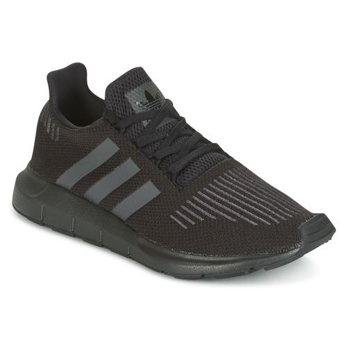 buy popular d49d0 fc1c7 Skor Barn Sneakers adidas Originals SWIFT RUN J Svart