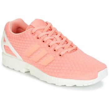 Skor Dam Sneakers adidas Originals ZX FLUX W Rosa / Vit
