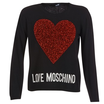 textil Dam Tröjor Love Moschino WS89G01X0683 Svart