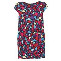 textil Dam Korta klänningar Love Moschino WVF0300T9171 Flerfärgad