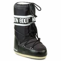 Skor Dam Vinterstövlar Moon Boot MOON BOOT NYLON Svart