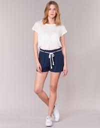 textil Dam Shorts / Bermudas Casual Attitude IGRETTE Marin