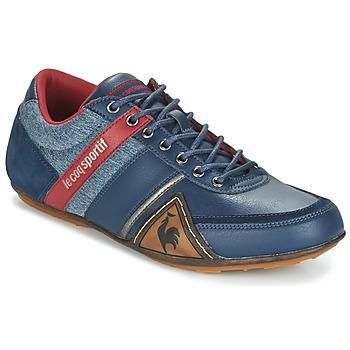 Skor Herr Sneakers Le Coq Sportif ANDELOT S LEA/2TONES Blå / Röd