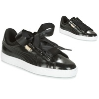 Skor Flick Sneakers Puma Basket Heart Glam Jr Svart