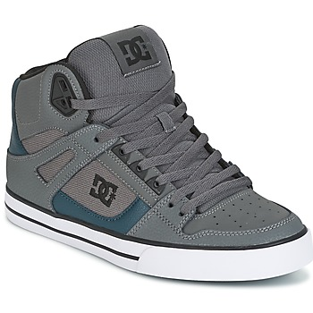 Skor Herr Höga sneakers DC Shoes SPARTAN HIGH WC Grå / Grön