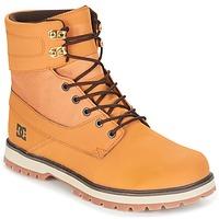 Skor Herr Boots DC Shoes UNCAS M BOOT TBK Beige / Svart / Brun
