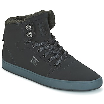 Skor Herr Höga sneakers DC Shoes CRISIS HIGH WNT Svart / Grå