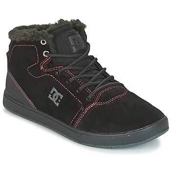 Skor Barn Höga sneakers DC Shoes CRISIS HIGH WNT Svart / Röd / Vit