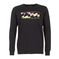 textil Herr Långärmade T-shirts Billabong INVERSE TEE LS Svart