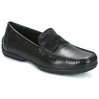 Skor Herr Loafers Geox U MONET W 2FIT Svart
