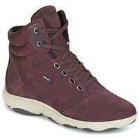 Skor Dam Höga sneakers Geox D NEBULA 4 X 4 B ABX Bordeaux