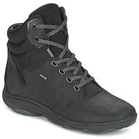 Skor Dam Höga sneakers Geox D NEBULA 4 X 4 B ABX Svart