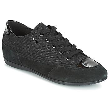 Skor Dam Sneakers Geox D NEW MOENA Svart