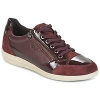Skor Dam Sneakers Geox D MYRIA Bordeaux