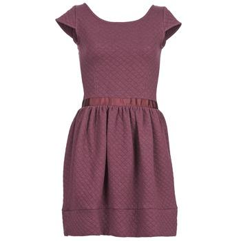 textil Dam Korta klänningar Naf Naf OHORTENSE Violett