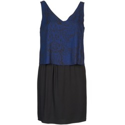 textil Dam Korta klänningar Naf Naf LORRICE Svart / Blå