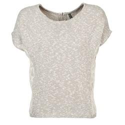 textil Dam T-shirts Naf Naf MILLON Grå