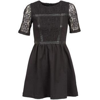 textil Dam Korta klänningar Naf Naf OBISE Svart