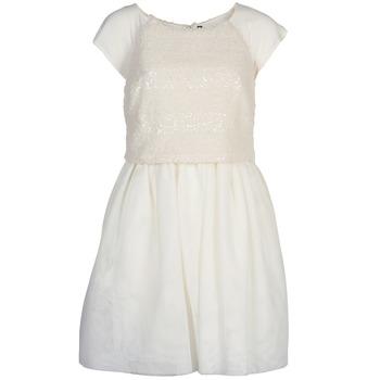 textil Dam Korta klänningar Naf Naf LYMELL Vit