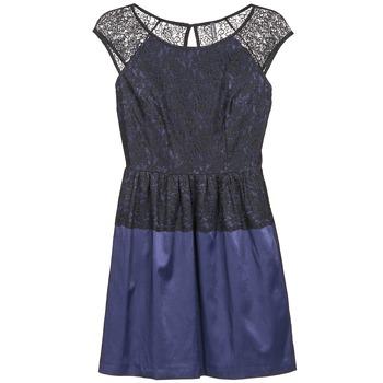 textil Dam Korta klänningar Naf Naf LYLITA Svart / Marin