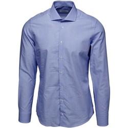 textil Herr Långärmade skjortor Bardvier Harvey Blue stripe Flerf_rgad