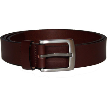 Accessoarer Herr Bälten Bardvier Brown leather Brun