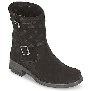 Skor Dam Boots Naf Naf XHNX70A18 Svart
