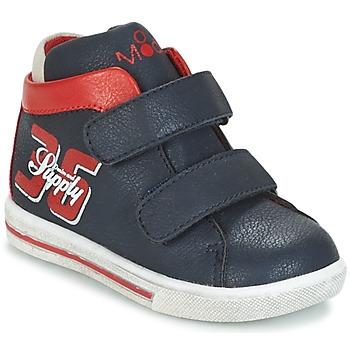 Skor Pojk Höga sneakers Mod'8 STARIUS Marin / Röd