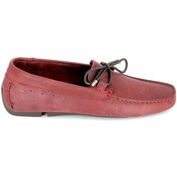 Skor Herr Loafers TBS Bagnoli Bordeaux Röd