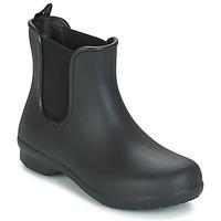 Skor Dam Boots Crocs CROCS FREESAIL CHELSEA Svart
