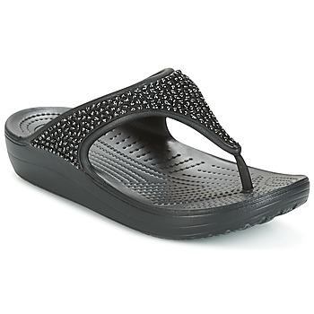 Skor Dam Sandaler Crocs SLOANE Svart