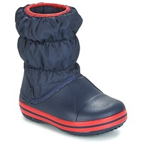 Skor Pojkar Vinterstövlar Crocs WINTER PUFF BOOT KIDS Marin