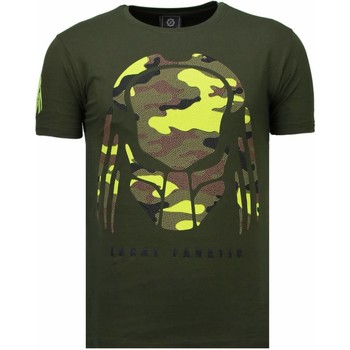 textil Herr T-shirts Local Fanatic Predator Rhinestone Grön