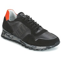 Skor Herr Sneakers Bikkembergs FEND-ER 946 Svart / Orange