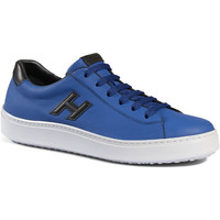 Skor Herr Sneakers Hogan HXM3020W550ETV809A blu