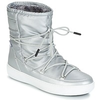Skor Dam Boots Moon Boot MOON BOOT PULSE NYLON PLUS WP Silver