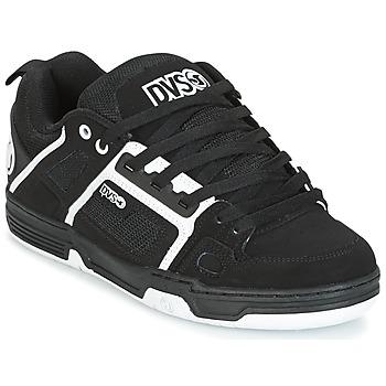 Skor Herr Sneakers DVS COMANCHE Svart / Vit