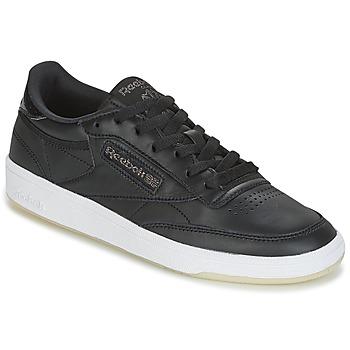 Skor Dam Sneakers Reebok Classic CLUB C 85 LTHR Svart