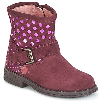 Skor Flickor Boots Agatha Ruiz de la Prada VAGABUNDA AGATHA Bordeaux