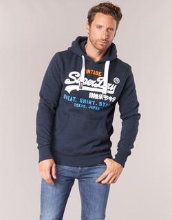 textil Herr Sweatshirts Superdry SHIRT STORE TRI Marin