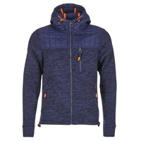 textil Herr Sweatshirts Superdry MOUNTAIN QUILTED SHERPA Marin