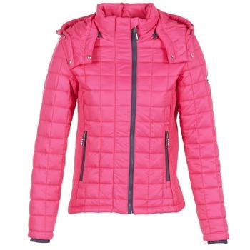 textil Dam Täckjackor Superdry FUJI BOX QUILTED Rosa