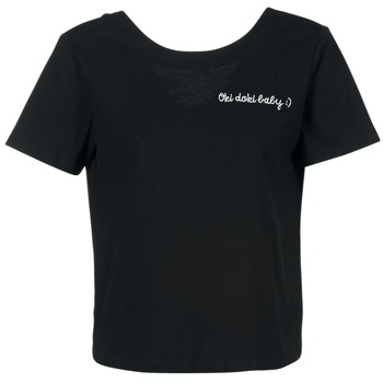 textil Dam T-shirts Moony Mood GORDY Svart