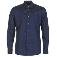 textil Herr Långärmade skjortor U.S Polo Assn. ZED Marin