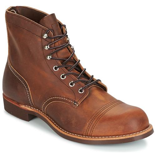 Skor Herr Boots Red Wing IRON RANGER Brun