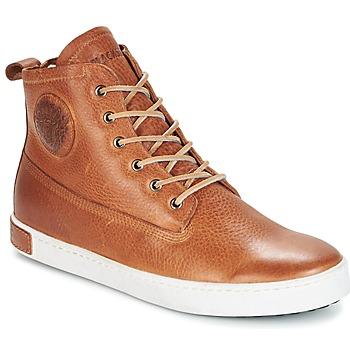 Skor Herr Höga sneakers Blackstone GM06 Brun
